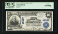 National Bank Notes:Michigan, Detroit, MI - $10 1902 Plain Back Fr. 631 First & Old NB Ch. #10527. ...