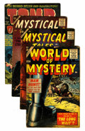 Silver Age (1956-1969):Horror, Mystical Tales Plus Group (Atlas, 1950s) Condition: Average VG-....(Total: 4 Comic Books)