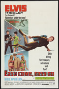 "Movie Posters:Elvis Presley, Easy Come, Easy Go (Paramount, 1967). One Sheet (27"" X 41""). ElvisPresley.. ..."