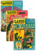 Golden Age (1938-1955):Classics Illustrated, Classic Comics Group (Gilberton, 1950s-60s) Condition: AverageGD/VG....