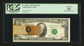 Error Notes:Major Errors, Fr. 2031-G $10 1995 Federal Reserve Note. PCGS Choice New 63.. ...