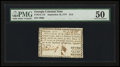 Colonial Notes:Georgia, Georgia September 10, 1777 $1/2 PMG About Uncirculated 50.. ...