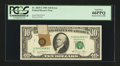 Error Notes:Major Errors, Fr. 2025-G $10 1981 Federal Reserve Note. PCGS Gem New 66PPQ.. ...