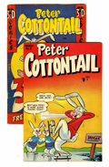 Golden Age (1938-1955):Funny Animal, Peter Cottontail Group (Key Publications, 1954) Condition: AverageFN+.... (Total: 5 Items)