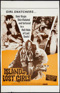 "Movie Posters:Exploitation, Island of Lost Girls (Saxton, 1968). One Sheet (27"" X 41"").Exploitation.. ..."