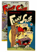 Golden Age (1938-1955):Funny Animal, Funny Stuff #5 and 62 Group (DC, 1945-51) Condition: AverageVF/NM.... (Total: 2 Comic Books)