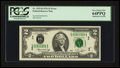 Error Notes:Doubled Third Printing, Fr. 1935-L $2 1976 Federal Reserve Note. PCGS Very Choice New64PPQ.. ...