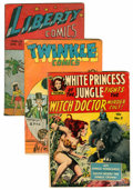 Golden Age (1938-1955):Miscellaneous, Comics - Assorted Golden and Silver Age Comics Group (Various, 1940s-60s) Condition: Average GD.... (Total: 16 Comic Books)