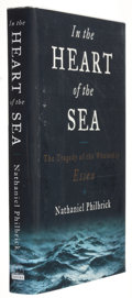 Books:Signed Editions, Nathaniel Philbrick. In the Heart of the Sea. The Tragedy of the Whaleship Essex. New York: Viking, 2000. Fi...