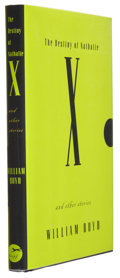 Books:Signed Editions, William Boyd. The Destiny of Nathalie X and Other Stories. New York: Alfred A. Knopf, 1997. First American editi...