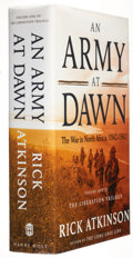 Books:Signed Editions, Rick Atkinson. An Army at Dawn. The War in North Africa, 1942-1943. New York: Henry Holt and Company, 2002. ...