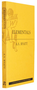 Books:First Editions, A. S. Byatt. Elementals. Stories of Fire and Ice.London: Chatto & Windus, 1998. Uncorrected proof copy of t...