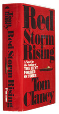 Books:First Editions, Tom Clancy. Red Storm Rising. New York: G. P. Putnam's Sons,1986. First edition. Publisher's original binding a...
