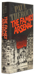 Books:Signed Editions, Paul Theroux. The Family Arsenal. London: Hamish Hamilton, 1976. First edition. Signed by the author on the ti...