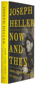 Books:Signed Editions, Joseph Heller. Now and Then. From Coney Island to Here. New York: Alfred A. Knopf, 1998. First trade edi...