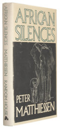 Books:Signed Editions, Peter Matthiessen. African Silences. New York: Random House, 1991. First edition. Signed by the author on the ...