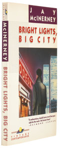 Books:Signed Editions, Jay McInerney. Bright Lights, Big City. New York: Vintage Books, 1984. First edition. Signed by the author on the ...