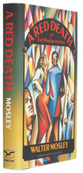 Books:Signed Editions, Walter Mosley. A Red Death. New York London: W. W. Norton & Company, 1991. First edition. Signed by the author...