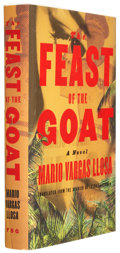 Books:Signed Editions, Mario Vargas Llosa. The Feast of the Goat. New York: Farrar, Straus and Giroux, 2001. First American edition. ...
