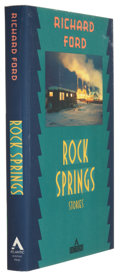 Books:Signed Editions, Richard Ford. Rock Springs. New York: The Atlantic Monthly Press, 1987. First edition, first printing. Signed ...