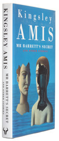 Books:First Editions, Kingsley Amis. Mr. Barrett's Secret and Other Stories.London: Hutchinson, 1993. First edition. 185 pages. Publi...