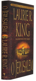 Books:Signed Editions, Laurie R. King. O Jerusalem. New York, et al.: Bantam Books, 1999. First edition. Signed and dated by the author o...