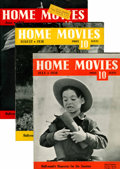 Memorabilia:Movie-Related, Home Movie Magazine Group (Ver Halen Publications, 1938-39)Condition: Average FN.... (Total: 7 Items)