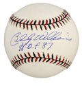 Autographs:Baseballs, Billy Williams Single Signed Baseball. A six time All-Star,soft-spoken Billy Williams let his bat do the talking, slugging...