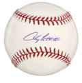 Autographs:Baseballs, Andy Pettitte Single Signed Baseball. With four World Series ringsas a New York Yankee, lefty ace Andy Pettitte has been o...