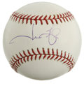 Autographs:Baseballs, Jason Giambi Single Signed Baseball. The 2000 AL MVP Jason Giambimakes his presence known with this high-quality sweet spo...