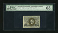 Fractional Currency:Second Issue, Fr. 1286 25c Second Issue PMG Choice Uncirculated 63 EPQ....