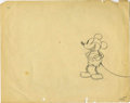 Animation Art:Production Drawing, Mickey Mouse Animation Production Drawing Original Art (Disney,undated)....