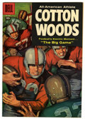 Silver Age (1956-1969):Adventure, Four Color #837 All-American Athlete Cotton Woods (Dell, 1957) Condition: VF/NM....