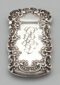 Silver Smalls:Match Safes, AN AMERICAN SILVER AND SILVER GILT MATCH SAFE . La Pierre Mfg. Co.,New York, New York, circa 1900. Marks: L, STERLING, 33...