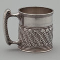 Silver Holloware, American:Cups, A PAIR OF AMERICAN SILVER CUPS . Gorham Manufacturing Co.,Providence, Rhode Island, circa 1888. Marks: (lion-anchor-G),S... (Total: 2 Items Items)