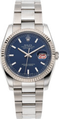 Timepieces:Wristwatch, Rolex Ref. 116234 Stainless Steel Oyster Perpetual Datejust, circa 2006. ...