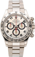 Timepieces:Wristwatch, Rolex Ref. 116509 White Gold Oyster Perpetual Cosmograph Daytona,circa 2006. ...