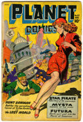 Golden Age (1938-1955):Science Fiction, Planet Comics #57 (Fiction House, 1948) Condition: GD/VG....