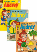 Silver Age (1956-1969):Humor, Playful Little Audrey File Copies Box Lot (Harvey, 1958-76) Condition: Average VF+....