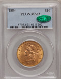 Liberty Eagles: , 1884 $10 MS62 PCGS. CAC. PCGS Population (41/23). NGC Census:(27/17). Mintage: 76,800. Numismedia Wsl. Price for problem f...