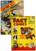 Golden Age (1938-1955):Non-Fiction, Real Fact Comics #1/Showcase #5 Group (DC, 1946-56) Condition:Average VG-.... (Total: 2 Comic Books)