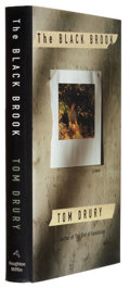 Books:Signed Editions, Tom Drury. The Black Brook. Boston New York: Houghton Mifflin Company, 1998. First edition. Signed by the ...