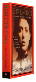 Books:Signed Editions, Sebastian Faulks. Birdsong. New York: Vintage Books, 1997. Preview edition of the first Vintage edition. Signe...