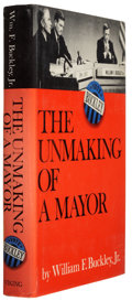 Books:Signed Editions, William F. Buckley, Jr. The Unmaking of a Mayor. New York: The Viking Press, 1966. First edition. Signed by th...