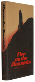 Books:Signed Editions, Anita Desai. Fire on the Mountain. New York, et al.: Harper & Row, Publishers, 1977. First American edition. S...