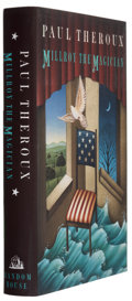 Books:Signed Editions, Paul Theroux. Millroy the Magician. New York: Random House, 1994. First edition. Signed by the author on the t...