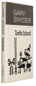 Books:Signed Editions, Gary Snyder. Turtle Island. New York: A New Directions Book,1974. First edition. Signed by the author on the ...