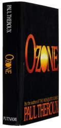 Books:Signed Editions, Paul Theroux. O-Zone. New York: G. P. Putnam's Sons, 1986. First edition. Signed by the author on the title pa...