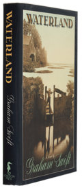 Books:Signed Editions, Graham Swift. Waterland. New York: Poseidon Press, 1983. First edition. Signed by the author on the title page...