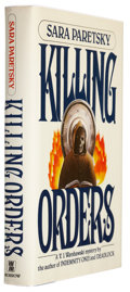 Books:Signed Editions, Sara Paretsky. Killing Orders. New York: William Morrow and Company, Inc., 1985. Review copy of the first editio...